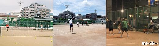 長住テニスクラブ テニスコート